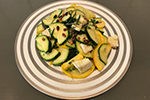 Salade-Courgettes